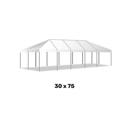 30x75 frame tent