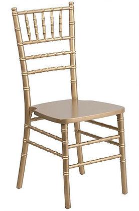 Gold Chiavari chair, METAL