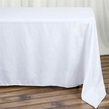 "90x132"" Rectangular Table cloth"