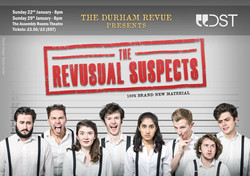 'The Revusual Suspects' 2016 show poster
