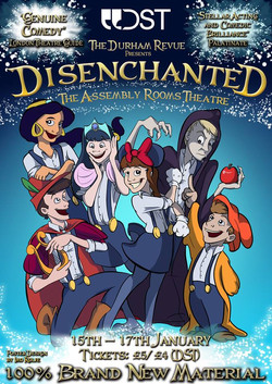 'Disenchanted' 2015 show poster