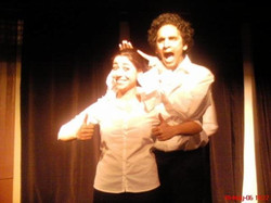 Nish Kumar and [unknown] in his 2007 Revue