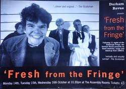 'Fresh From the Fringe' - 1996 Edinburgh Fringe Festival poster