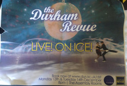 'Live! On Ice!' show poster (year unknown)