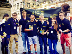 The 2013/14 Revue on the Fringe Royal Mile with 'Shenanigans'