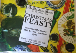 'Christmas Feast!' 2011 show poster
