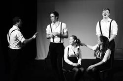 The 2012/13 Revue rehearsing...
