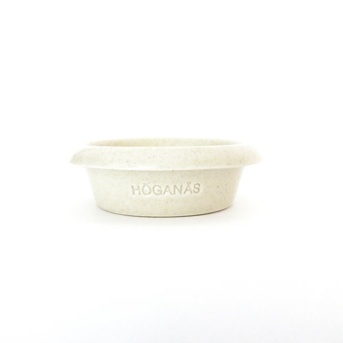 """Höganäs Keramik"" Ceramic very small Bowl in lovely off-white color from Sweden"