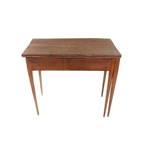 Antique backgammon table