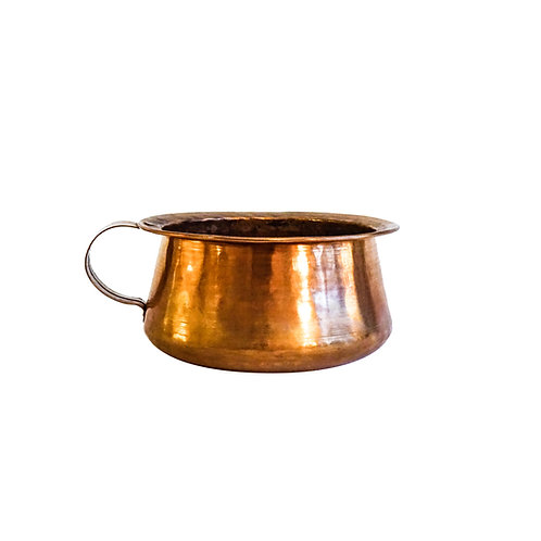 Antique Copper Pot with handle from Sweden early 1900s