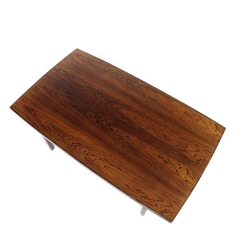 A stunning vintage Brazilian Jacaranda coffee table from Sweden 1960s