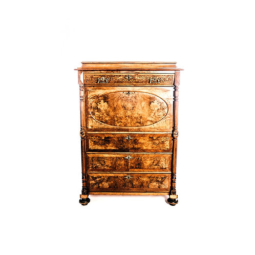 """""""Vintage Chiffonier"""" Secretaire Bureau Desk"""