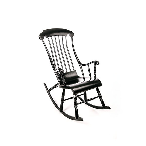 Swedish antique rocking chair from early 1900s