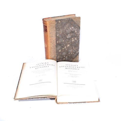 Antique Swedish book
