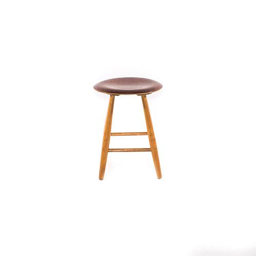 Vintage mid-century dining stool