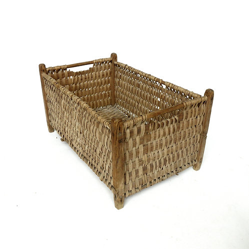 Antique laundry basket from Sweden early 1900s
