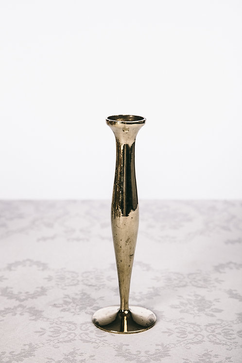 Swedish brass candle holder early 1900s