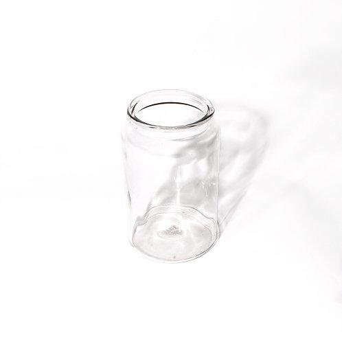 Vintage glass jar