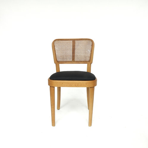 Vintage Thonet upholstered chair from Sweden early 1900s