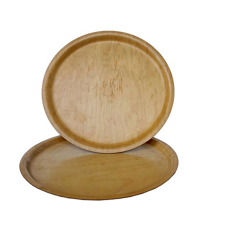 Vintage birch veneer tray from Silva Sweden mid-century