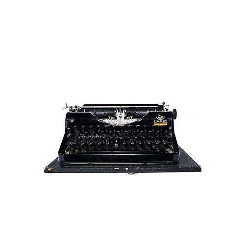 """Typewriter """"Olympia Simplex"""" early 1900s"""