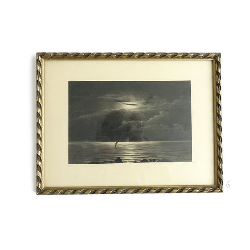 Various Gilded frame Lithographs from Sweden 1920-1950s
