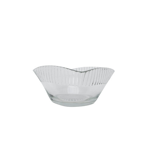 Vintage small glass bowl from Sweden mid century