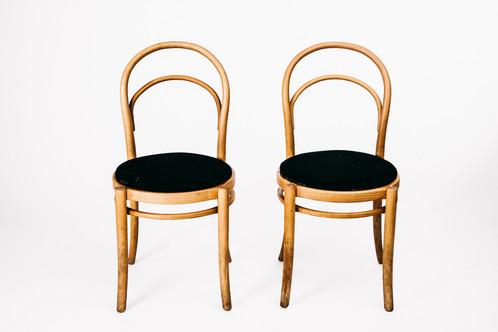 Swedish Chairs From GEMLA Stolfabrik Mid Century In Birch