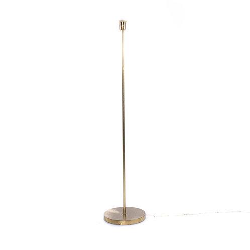 Swedish floor lamp in brass 1960s