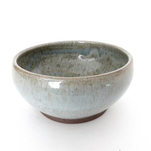 "Vintage Handmade glazed ceramic bowl from Sweden mid-century. ""Börsum"" Mariefred"