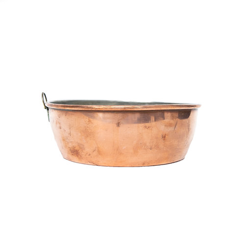 """Antique Copper Pot from Sweden early 1900s from """"Karlsson Eskilstuna"""""""
