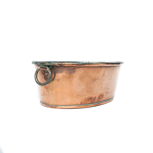 Antique Copper pot Sweden early 1900s perfect to use as bowlrom