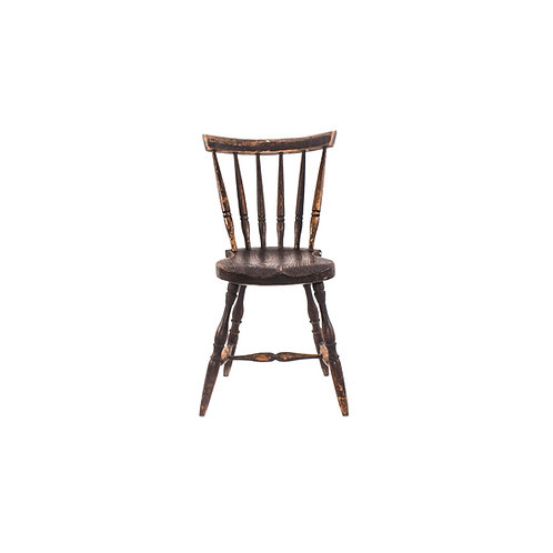 Solid birch dining chair