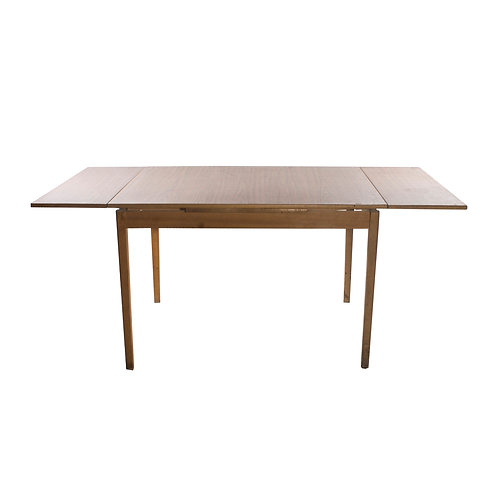 """""""Perstorps table"""" A wooden table treated with laminate"""