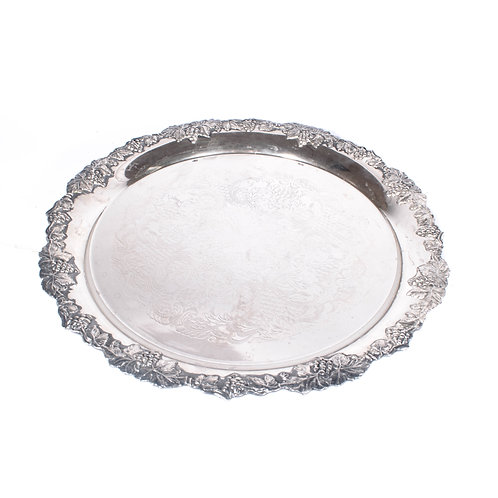 Swedish Antique Silver tray early 1900s