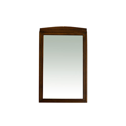 Antique oak mirror in Jugend style from Sweden 1920s
