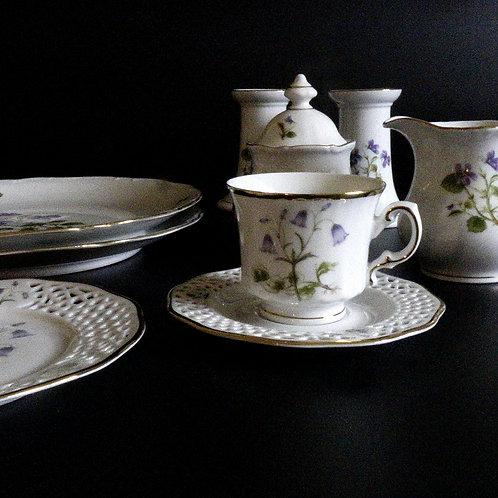 Vintage Svaneholm Somnium Solstiatiale coffee set from Sweden mid-century