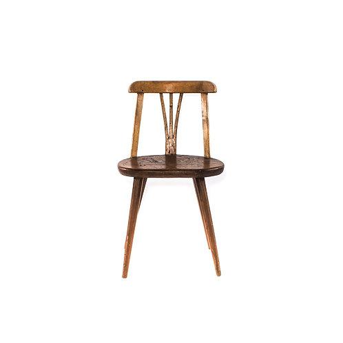 Swedish antique chair in oak Sweden early 1900s
