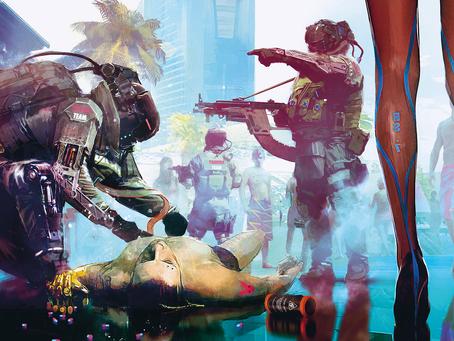 Cyberpunk 2077 - kraupi ateities vizija ar laki vaizduotė?