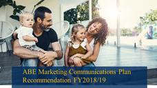 Marketing Plan Development and Integrated Communications Planning