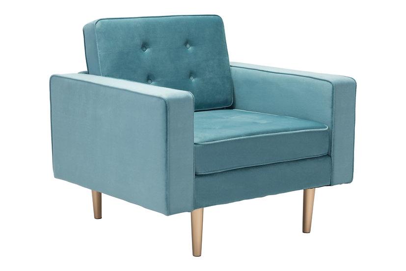 Puget - Velvet Armchair