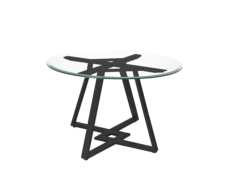 Dirk - Dining Table (Glass)
