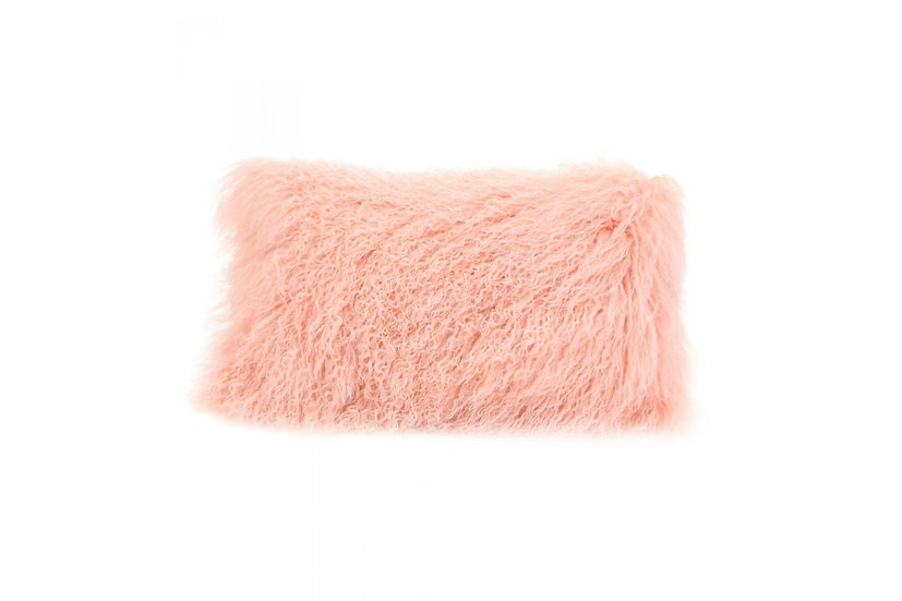Lambs Fur - Lumbar Pillow (Bright)