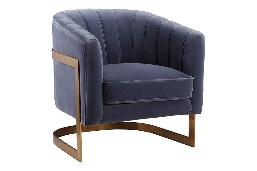 Carr - Light Blue Arm Chair