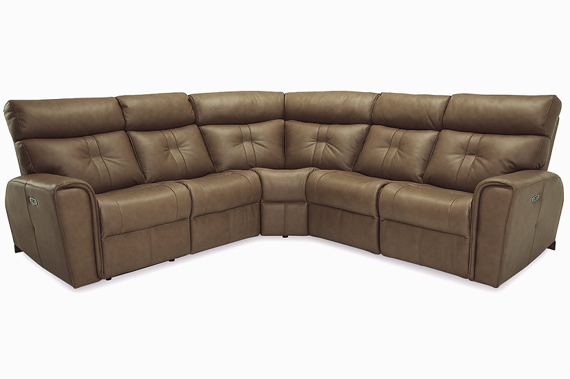 Acacia - Power Recline Sectional Sofa
