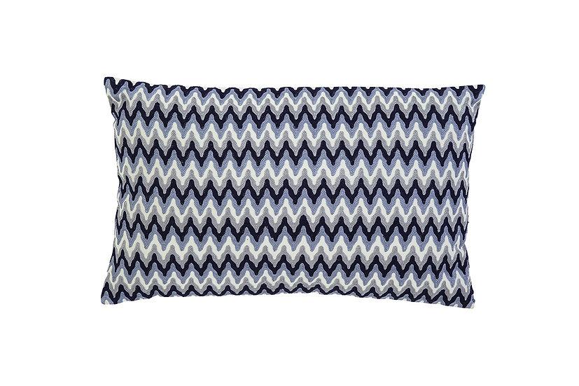Chevron - Embroidered Pillow