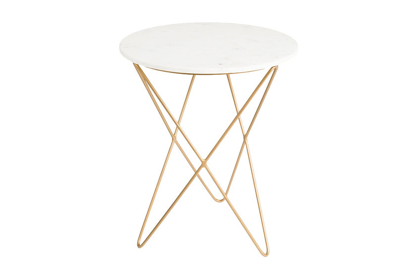 Earth Wind Fire - Marble Accent Table