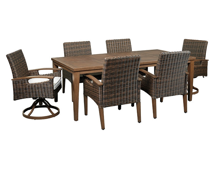 Paradise Trail - Outdoor Full Dining Set