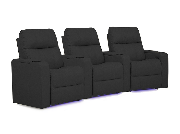 Soundtrack - 3 Seat Curved Home Theatre Seating
