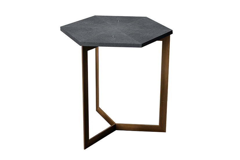 Ambient Shagreen - Hexagon Table